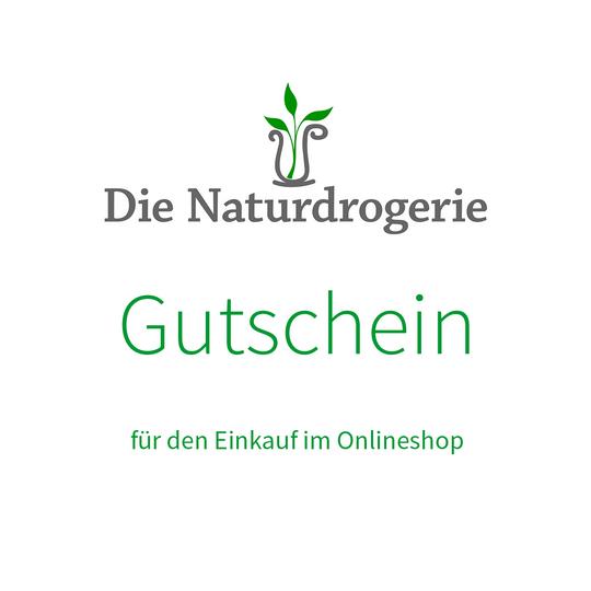 Die Naturdrogerie Einkaufsgutschein im Wert von 30 Euro