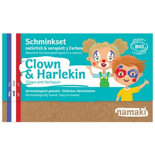 Namaki Clown & Harlekin Schminkset