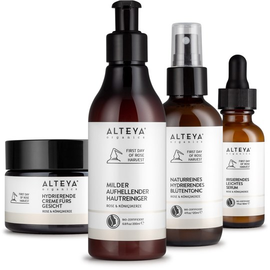 Alteya Paket Rose & Königskerze Gesichtspflege