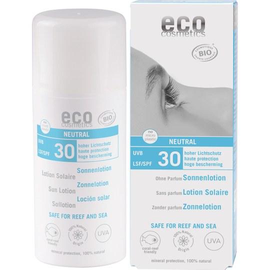eco cosmetics Sonnenlotion NEUTRAL LSF 30 - Ohne Parfum