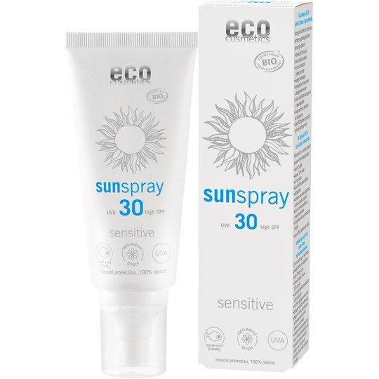 eco cosmetics Sonnenspray sensitive LSF 30