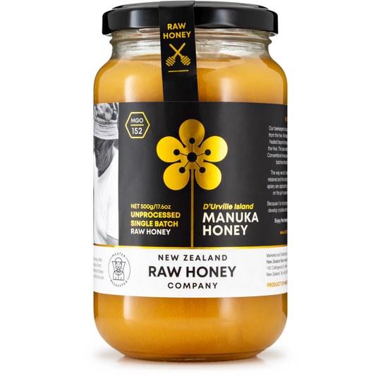 Master Beekeeper Manukahonig raw MGO 152+