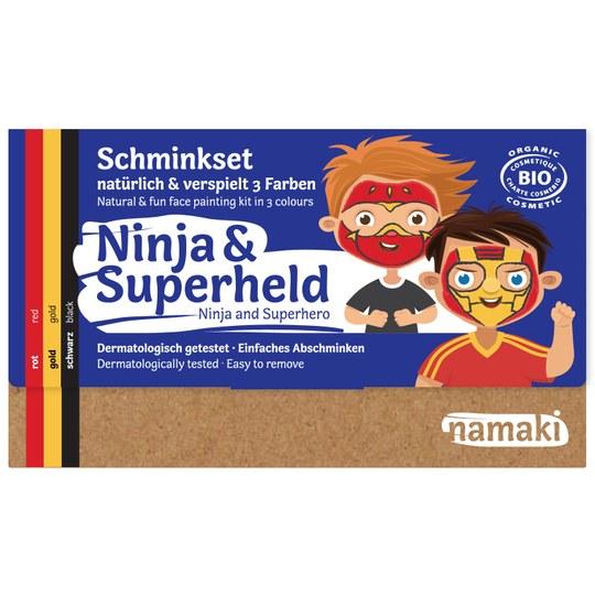 Namaki Ninja & Superheld Schminkset