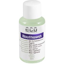 eco cosmetics Mundwasser mit Schwarzkümmel