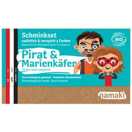 Namaki Pirat & Marienkäfer Schminkset