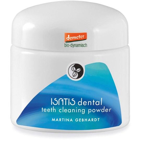 Martina Gebhardt ISATIS dental teeth cleaning powder