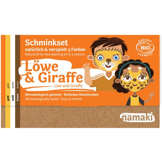 Namaki Löwe & Giraffe Schminkset
