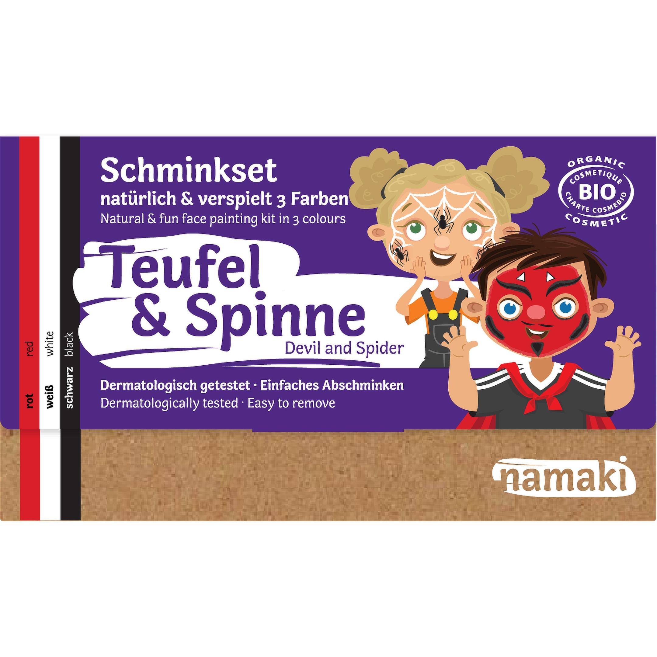 Namaki Teufel & Spinne Schminkset