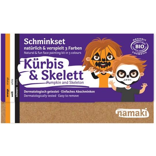 Namaki Kürbis & Skelett Schminkset